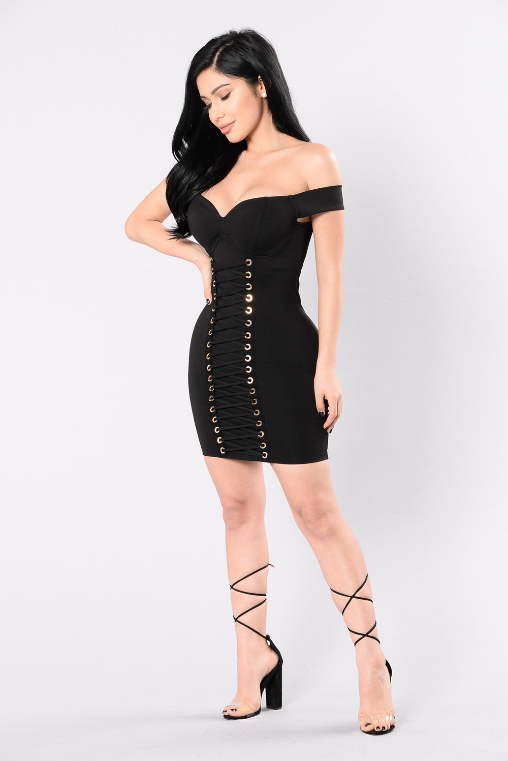 Hungover Off Love Dress - Black