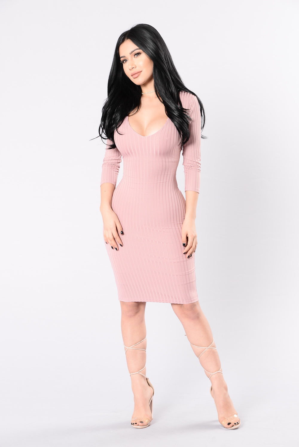 Trust In Me Dress - Dusty Pink