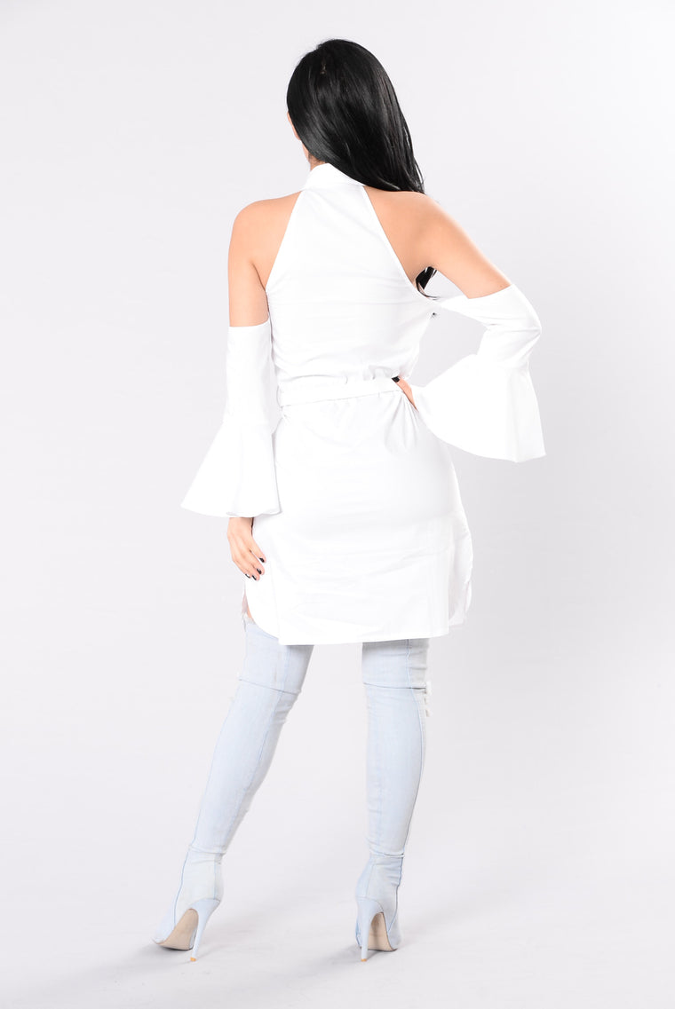 Infectious Beauty Dress - White