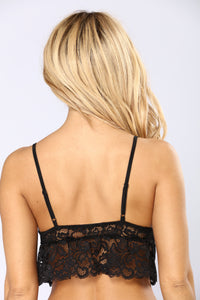 Point Of View Bralette - Black