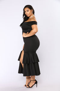 End Of Desire Maxi Dress - Black