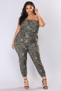 Troop Leader Camouflage Jumpsuit - Camo