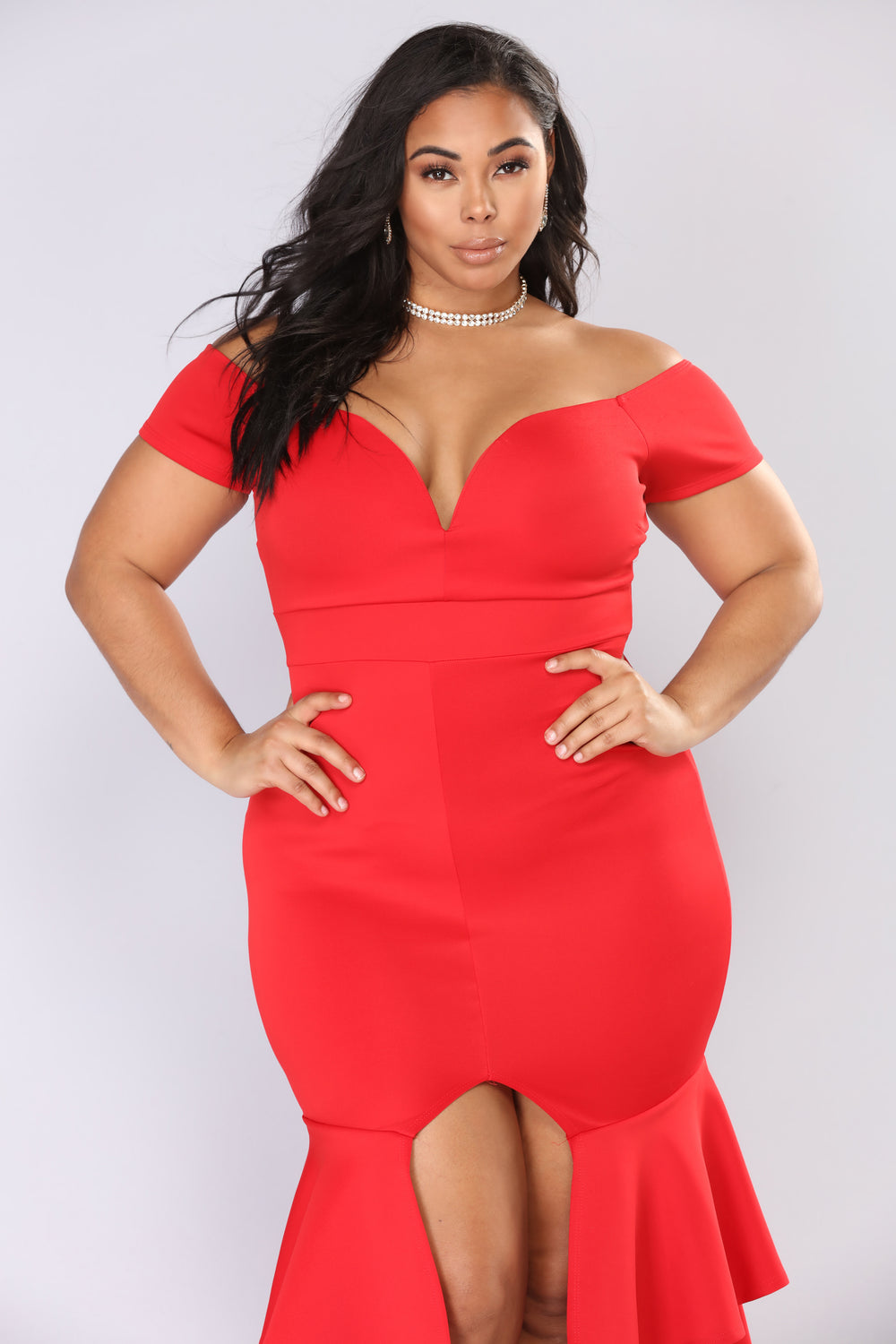 End Of Desire Maxi Dress - Red