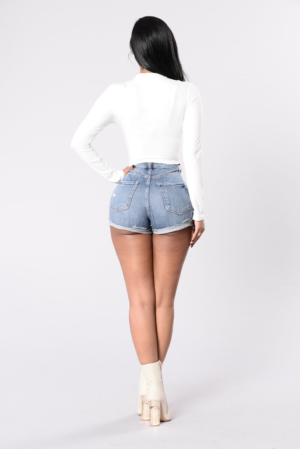 He Calls Me Shorty Shorts - Medium Dark