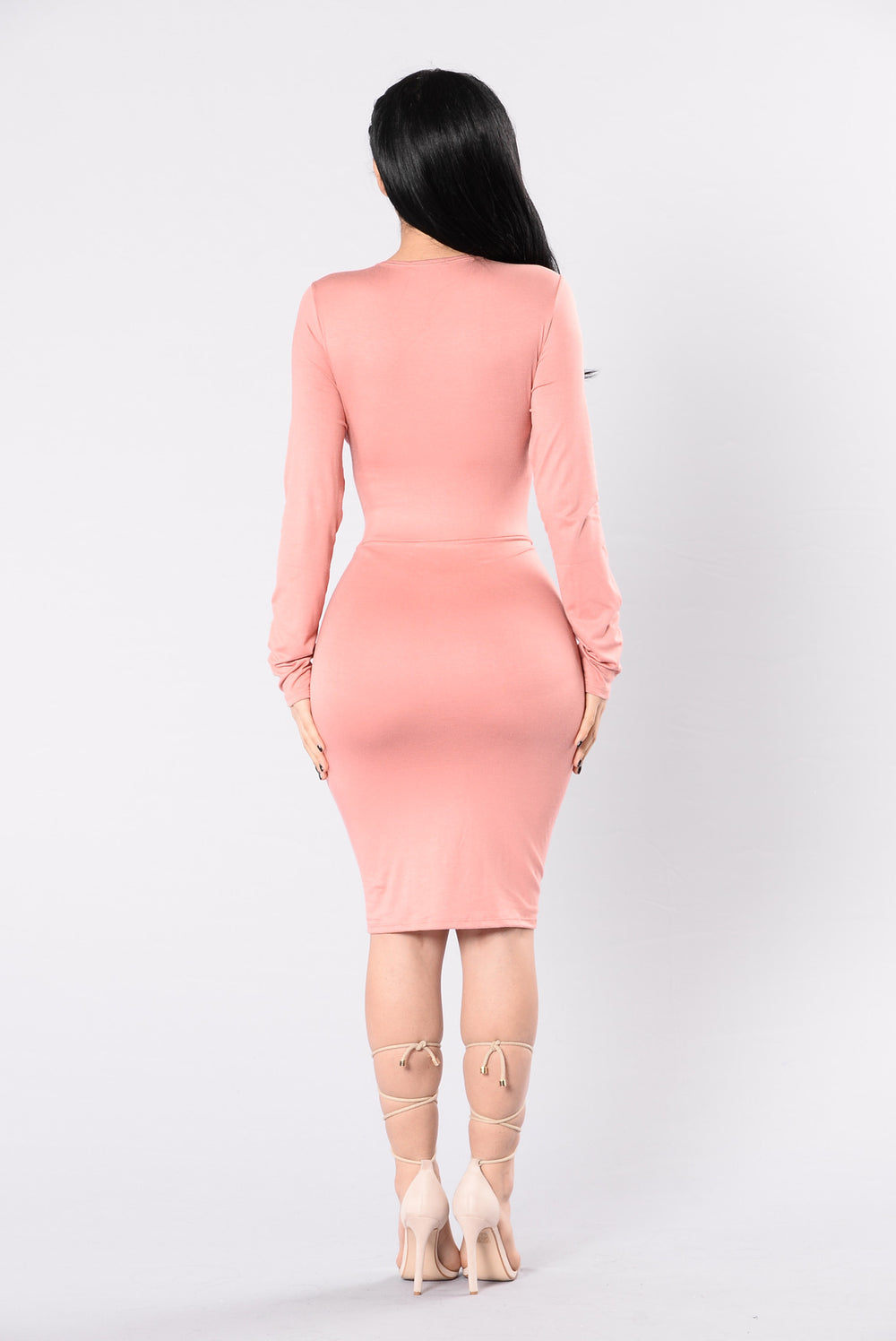 Major Key Dress - Salmon