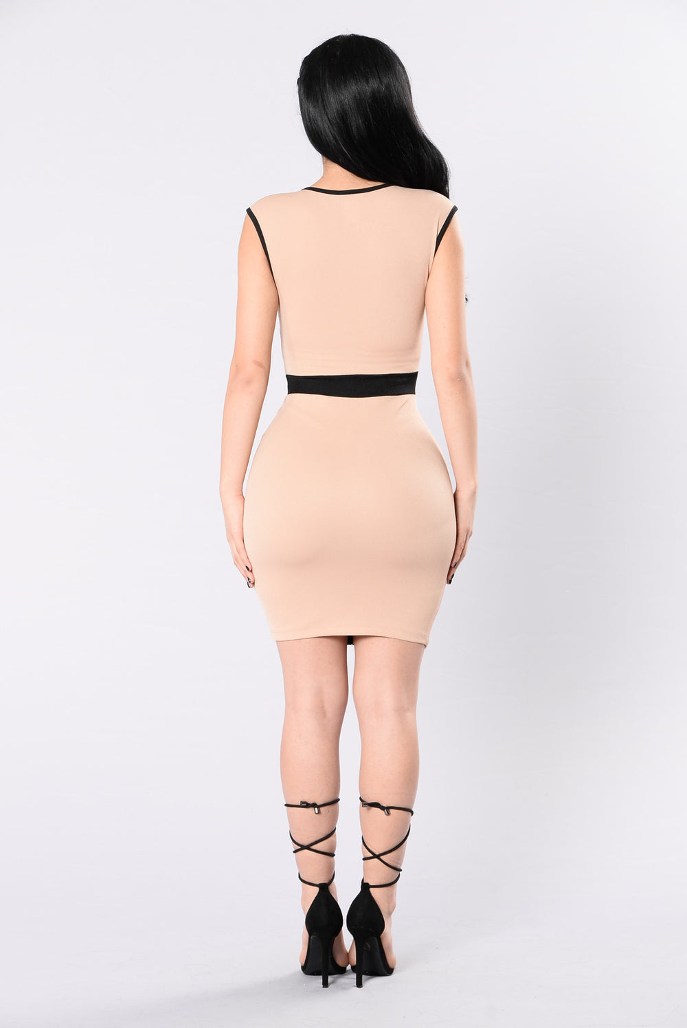 Slim Thick Dress - Mocha