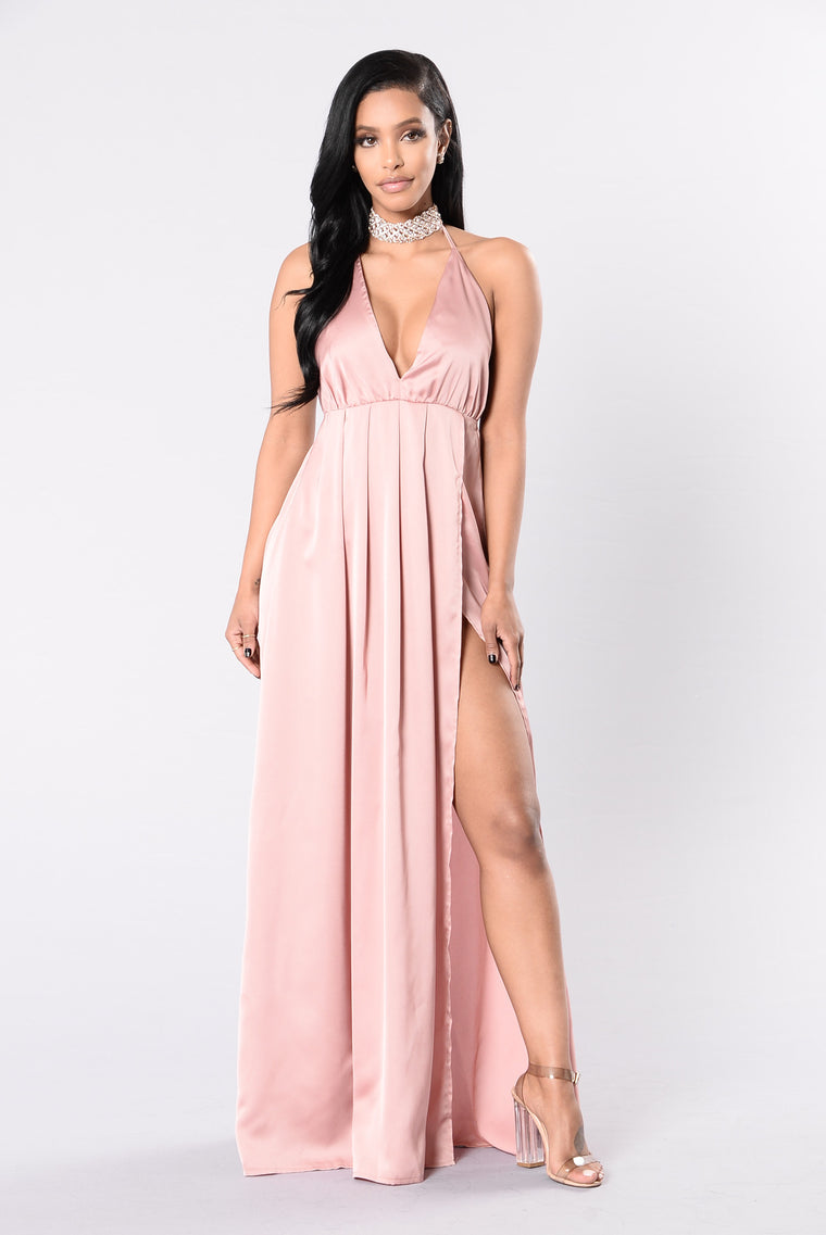 Feel So Good Dress - Mauve