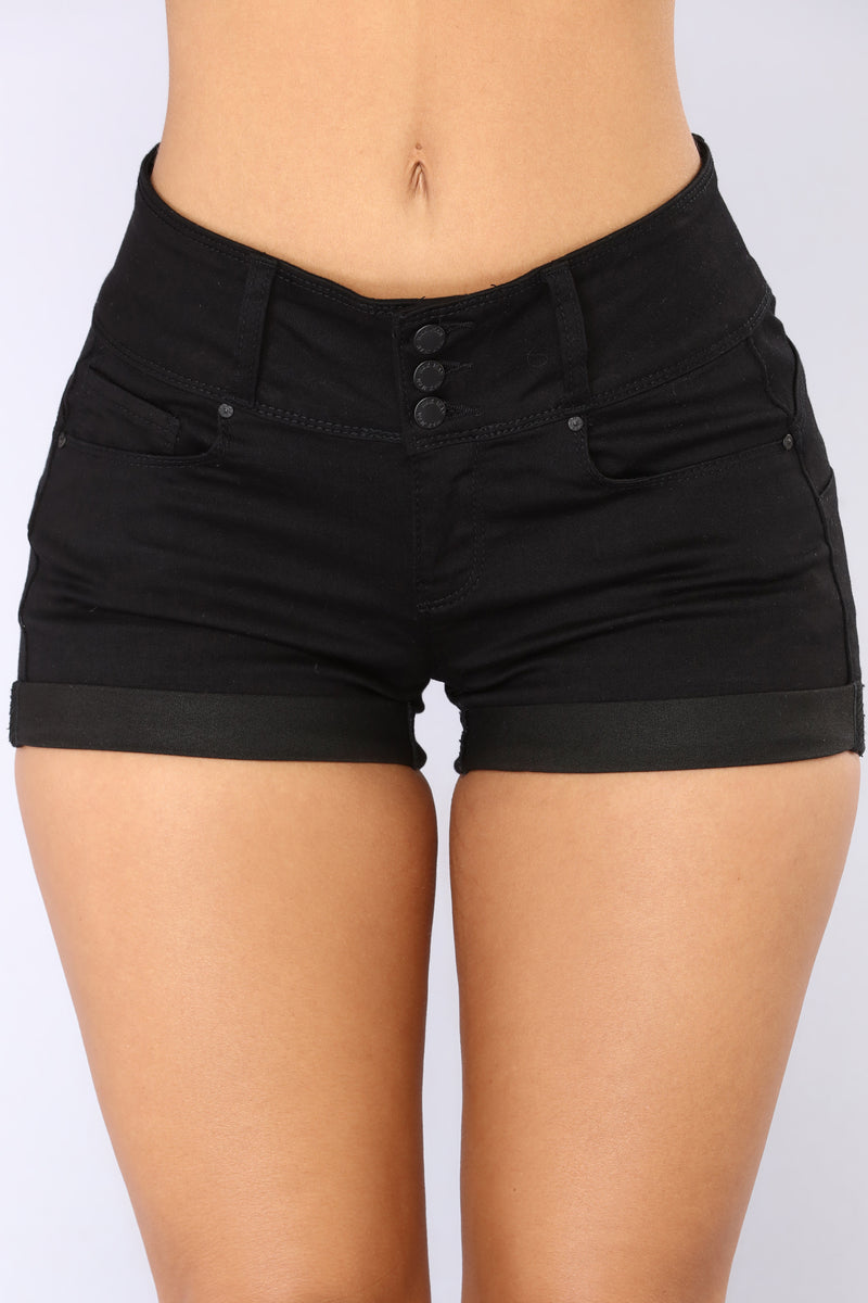 Valeria Booty Lifting Shorts - Black