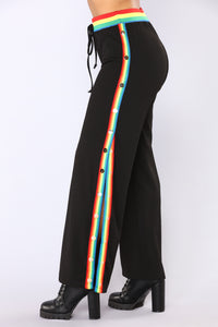 Over The Rainbow Pants - Black