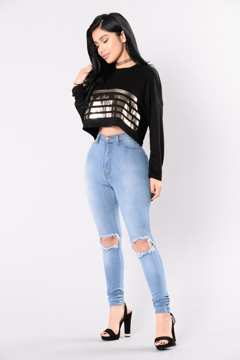 All Or Nothing Top - Black