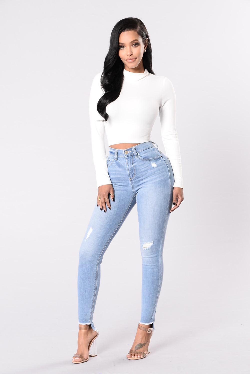 Found The One Jeans - Medium Light