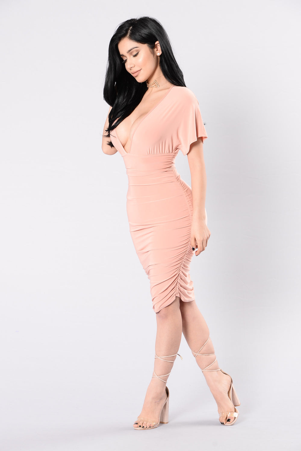 Confessions Of My Love Dress - Blush