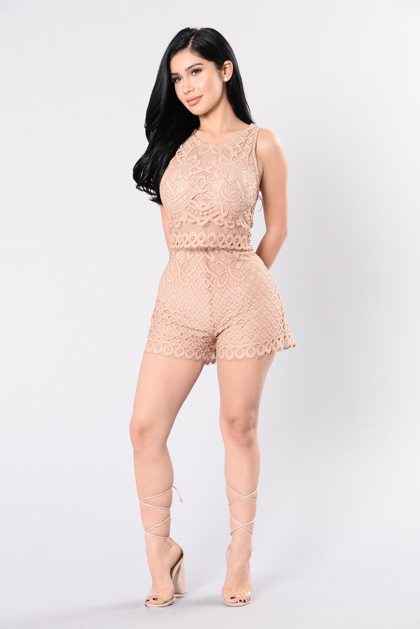 c2bf76863a7 If This Is Love Rompers - Dark Mauve