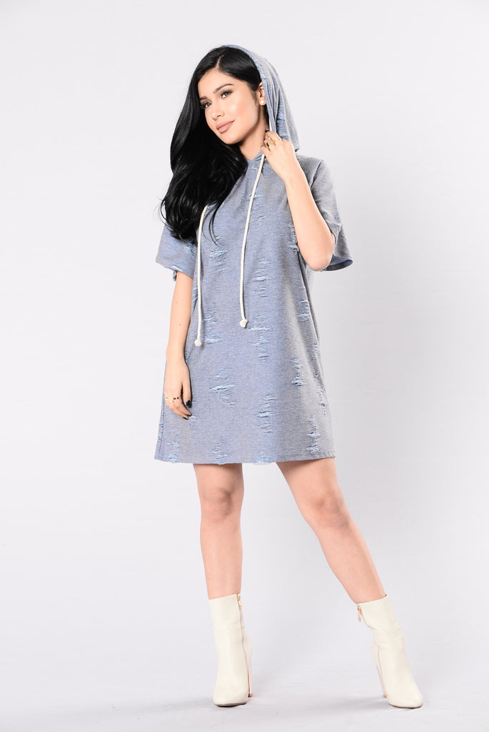 Revival Dress - Denim