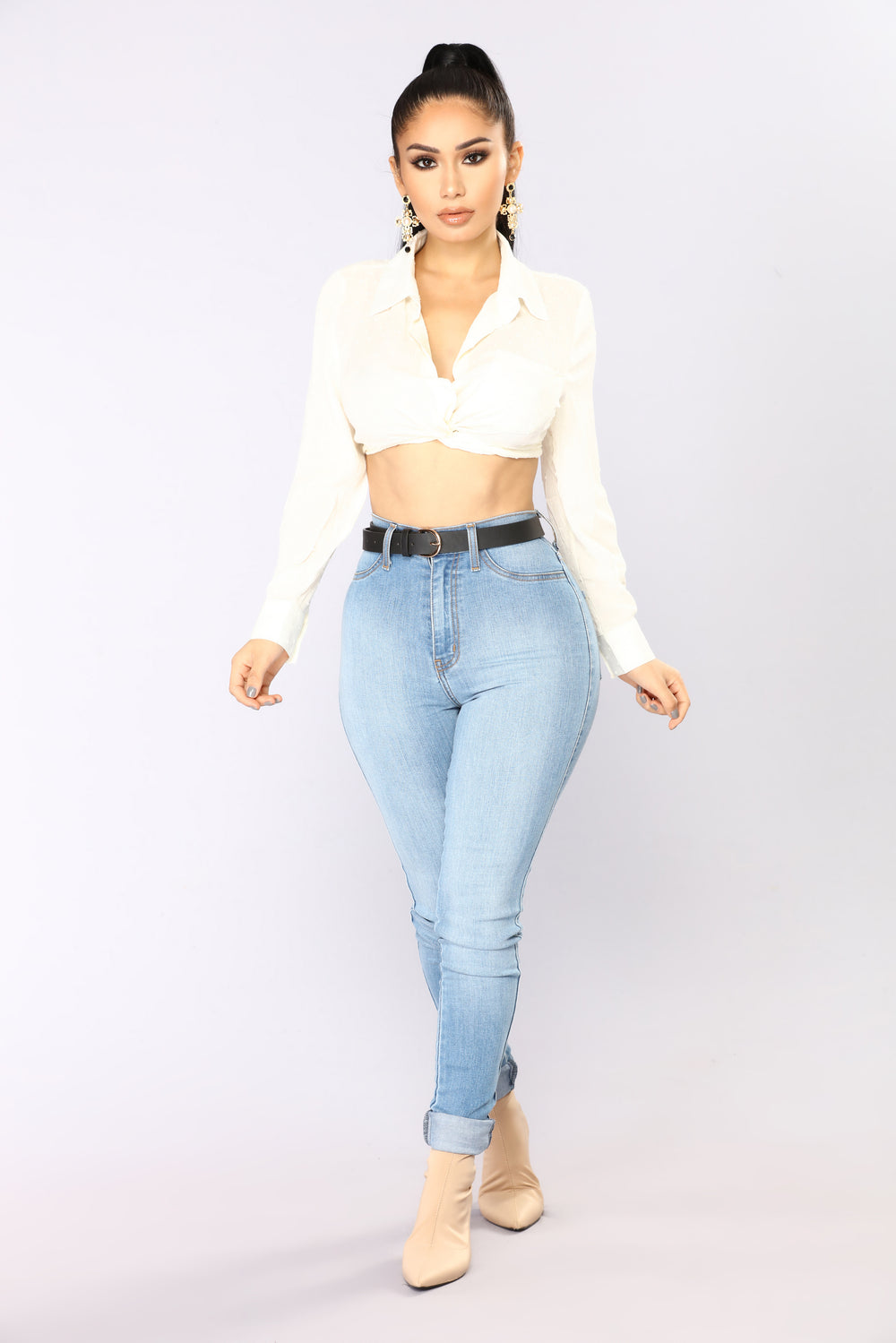 Knot Mad About It Top - Ivory