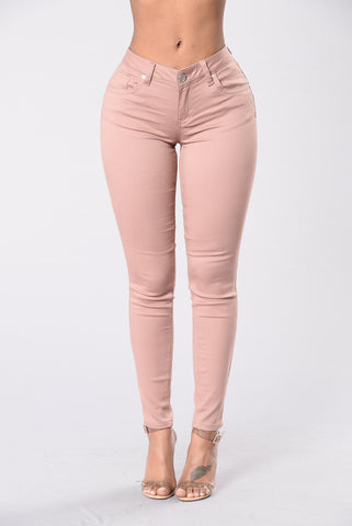Hustle Hard Pant - Mauve