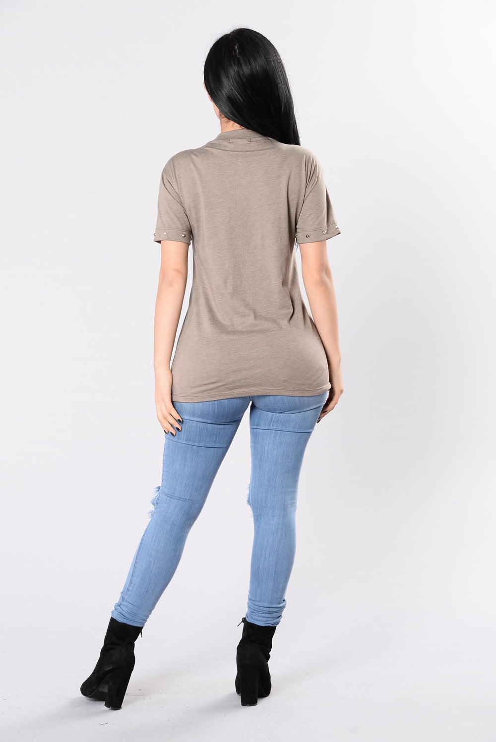 Pacific Coast Tee - Taupe