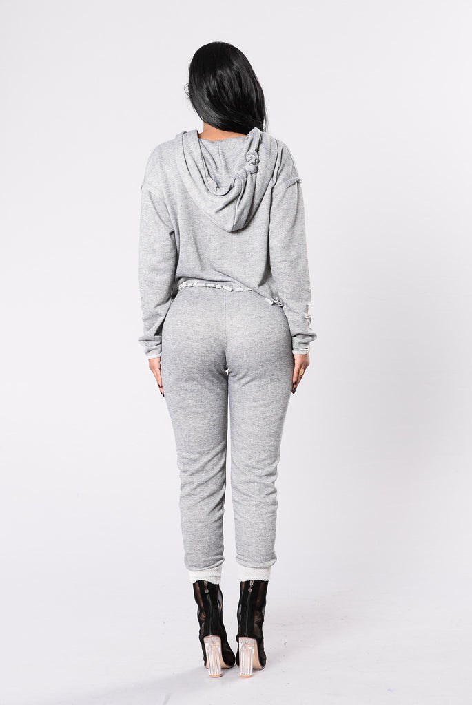 Speed It Up Jogger - Grey