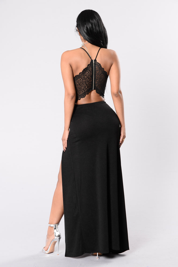 Fashion Affair Dress - Black