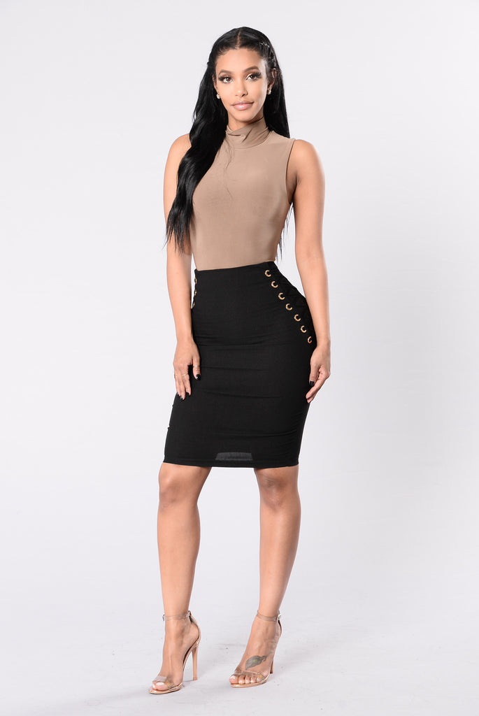 Dance Till Morning Skirt - Black