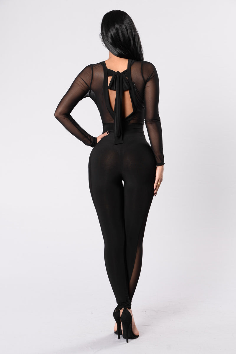 Your Best Kept Secret Jumpsuit - Black