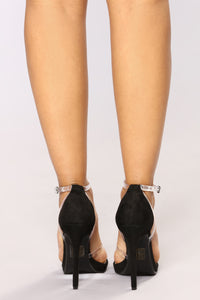 Lil Pop Heeled Sandal - Black