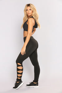The Real Deal Active Leggings - Black