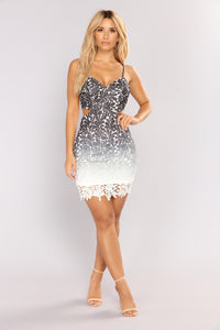 Be My Fantasy Mini Dress - Black