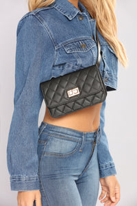 Quilt On The Go Fannypack - Black