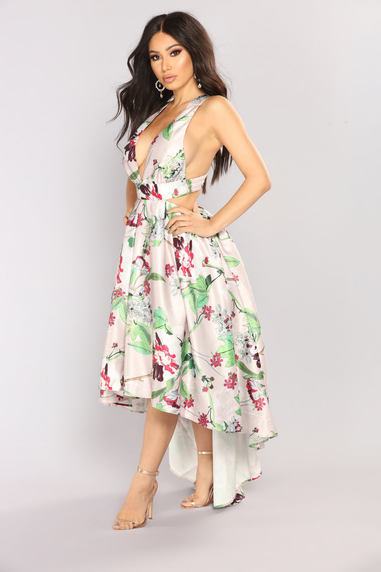 Addicted To You Maxi Dress - Rose