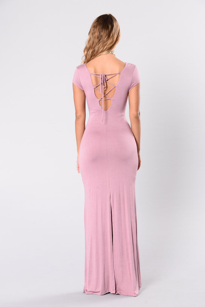 The Look Of Love Dress - Rose