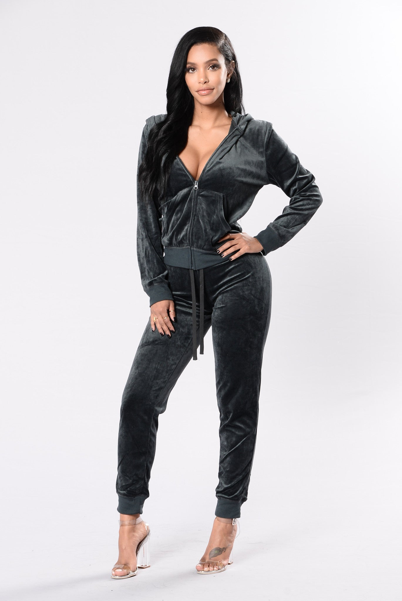 28d9ec4c3d1 And Chill Hoodie Track Suit Set - Stormy Weather