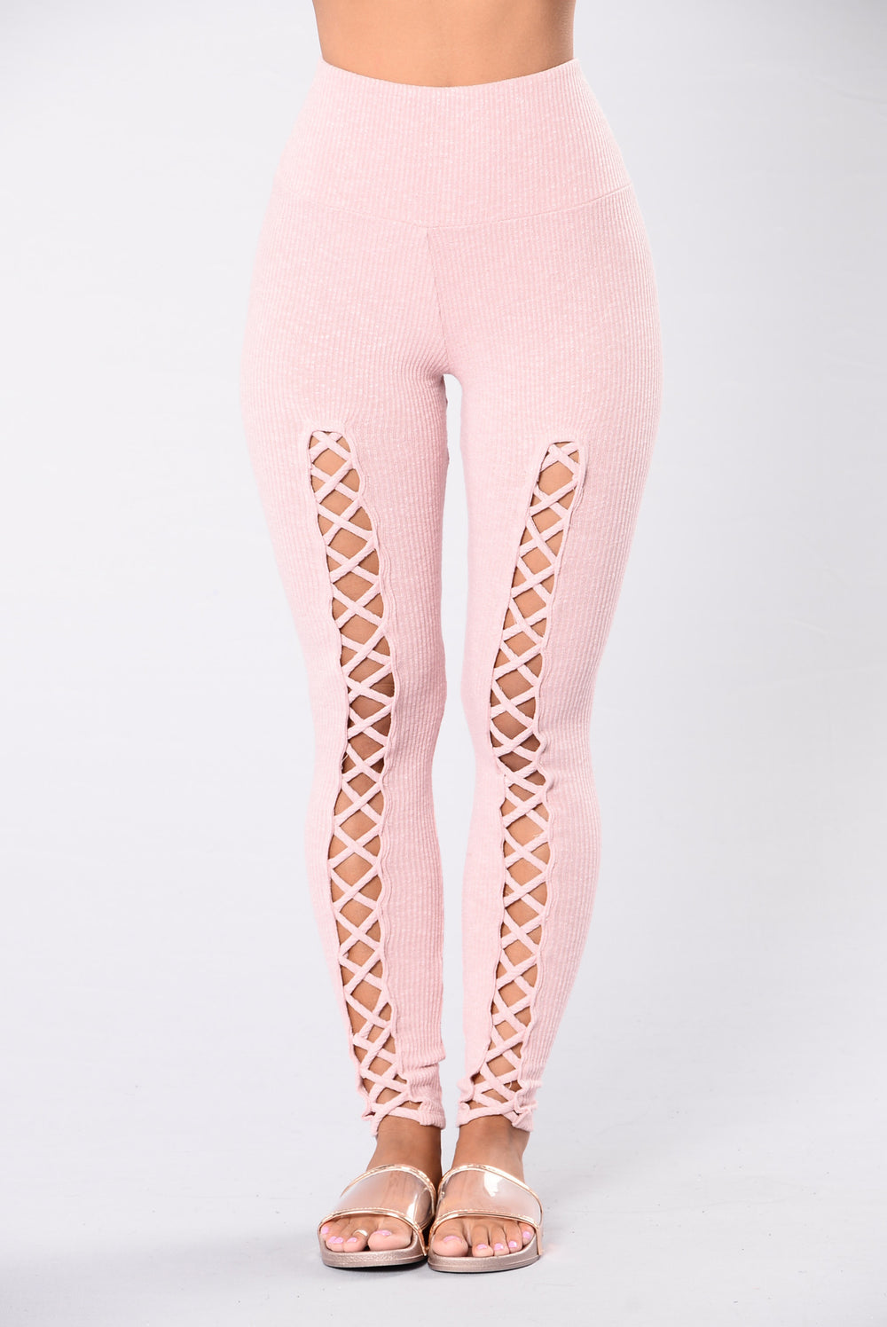 Best leggings for everyday pink blush color