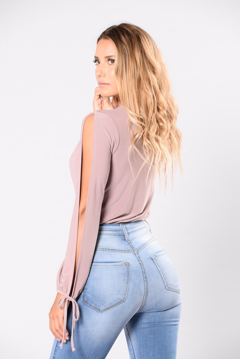 Got This Thing For You Bodysuit - Mauve