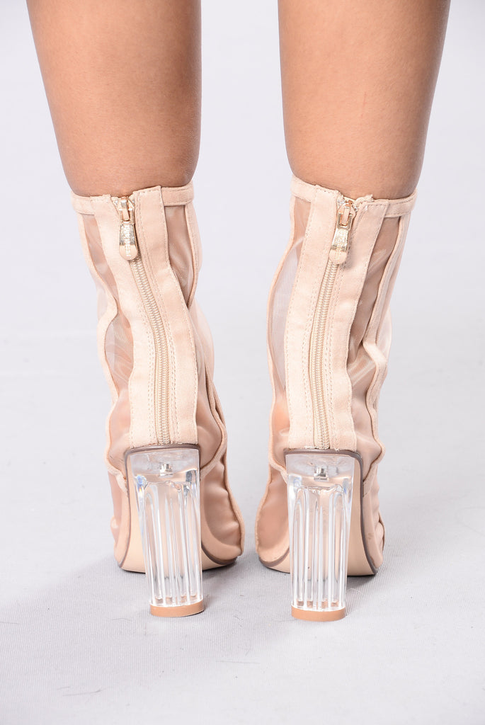 Walk It Out Boot - Nude