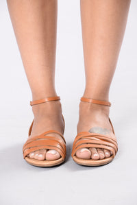 Sure Know How Sandal - Tan