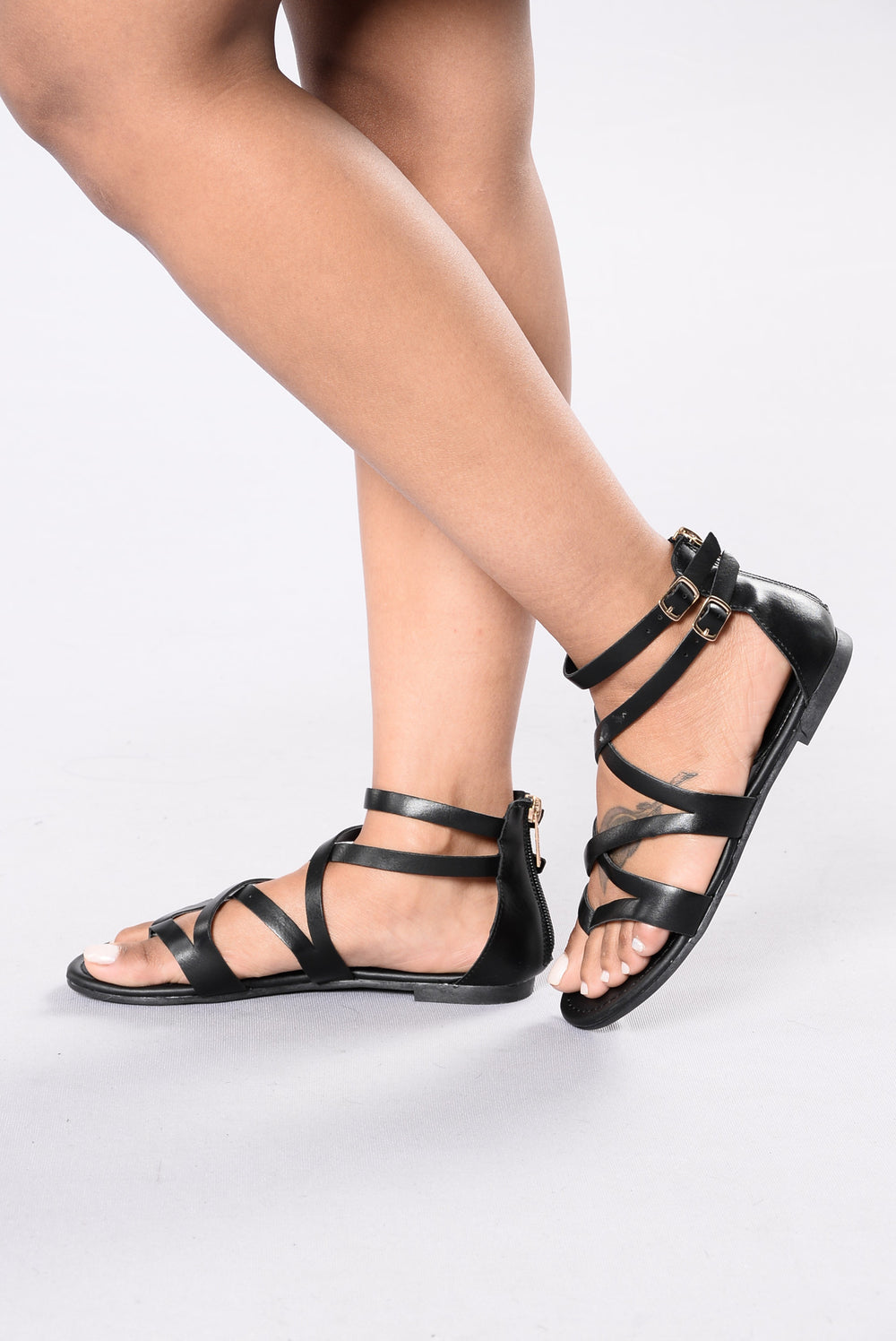 Warrior Sandal - Black