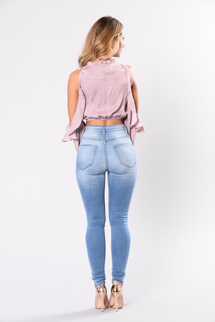 Home Town Girl Top - Lavender