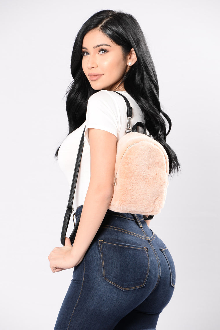 Furever Yours Backpack - Beige