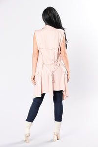 Show Them Vest - Dusty Pink