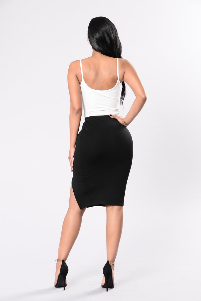 Luscious Lady Skirt - Black