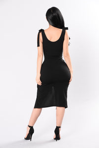Night To Remember Dress - Black