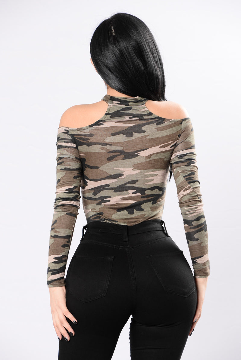 Case Of The Camo Bodysuit - Camo