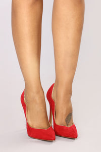 Strut The Streets Heels - Red