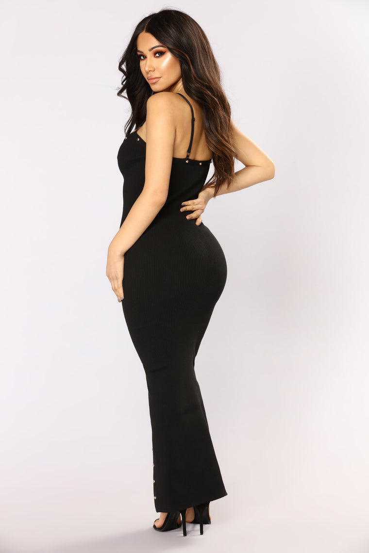 Limitless Babe Maxi Dress - Black