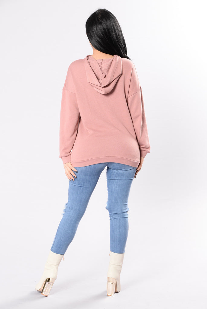 Tough Broad Tunic - Mauve