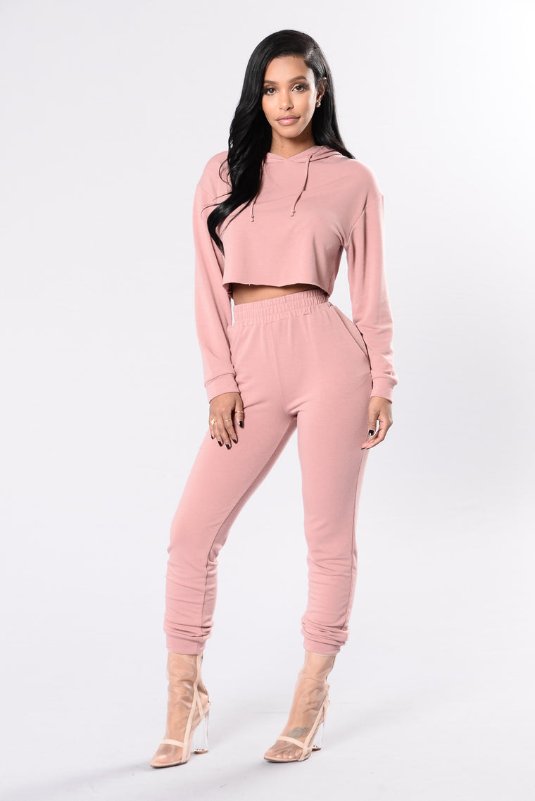 Comfy and Cozy Pants - Mauve