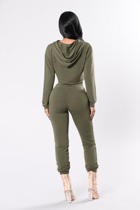 Comfy and Cozy Top - Olive Angle 7