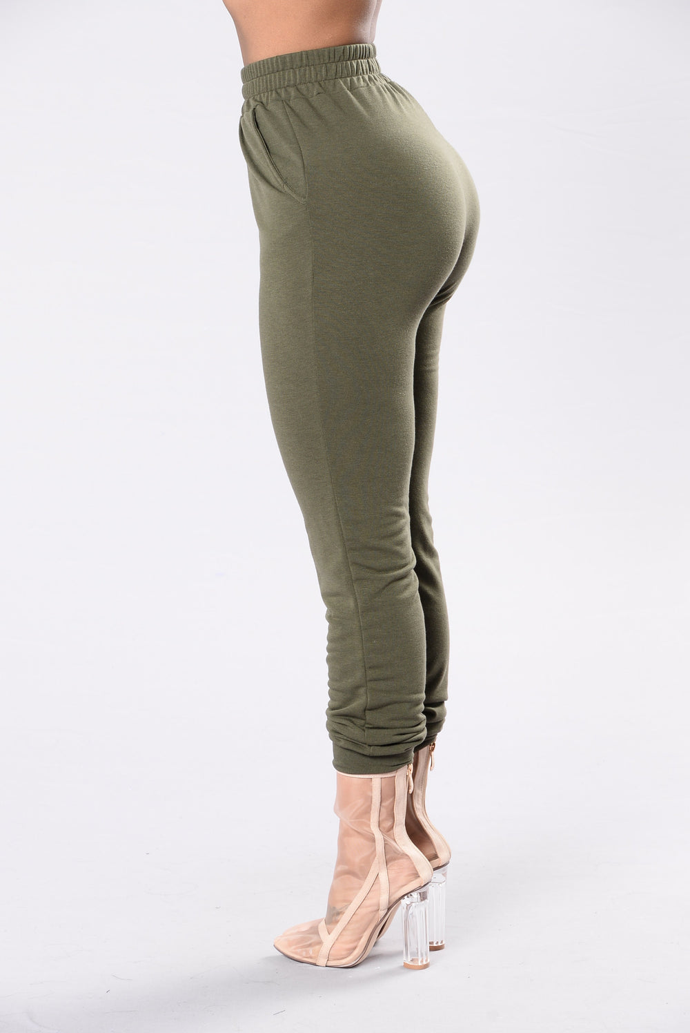 Comfy and Cozy Pants - Olive