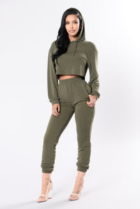 Comfy and Cozy Top - Olive